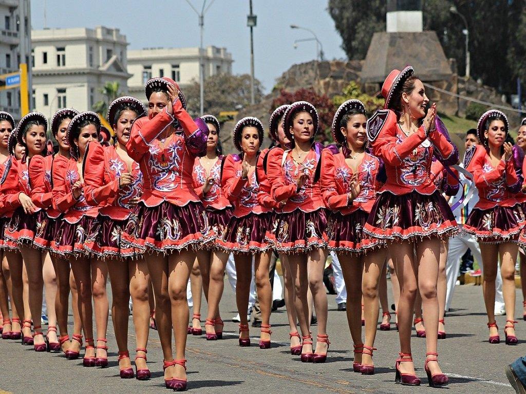 Lima Salsa Dancers Peru
