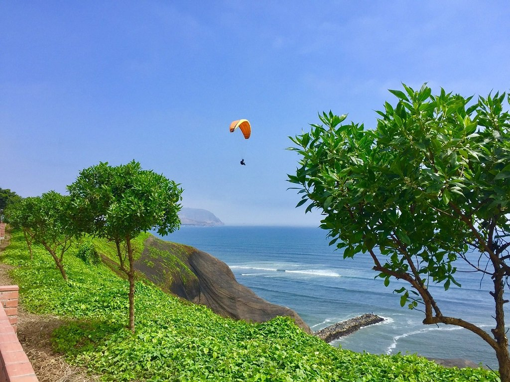 Lima Miraflores Paragliding