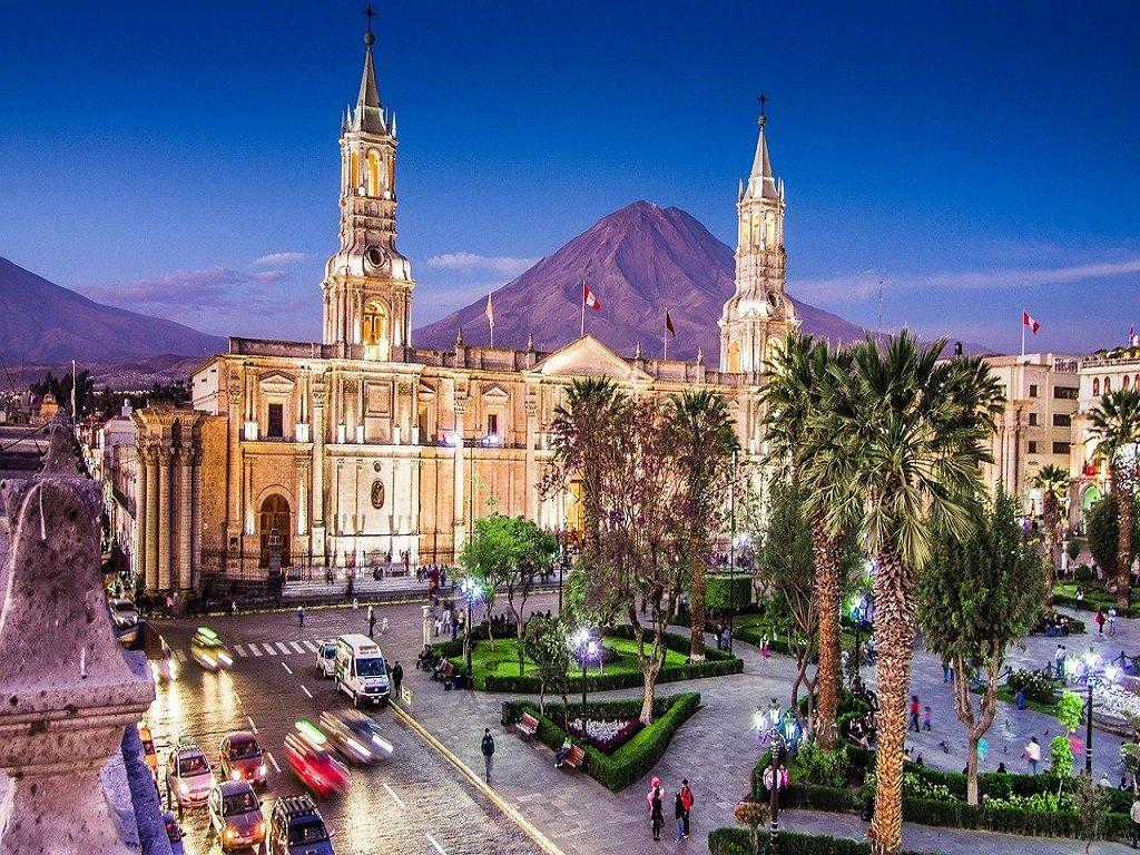 Arequipa Peru Plaza des Armas
